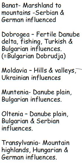 Romania Regions