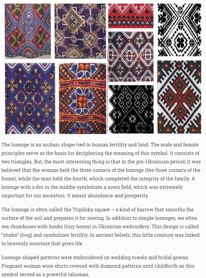Symbolism In Ukrainian Embroidery Folkdance Footnotes