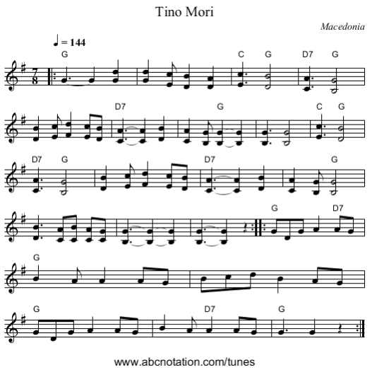 Tino Mori -ABC