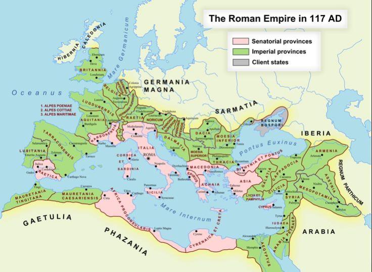 117 Roman Empire