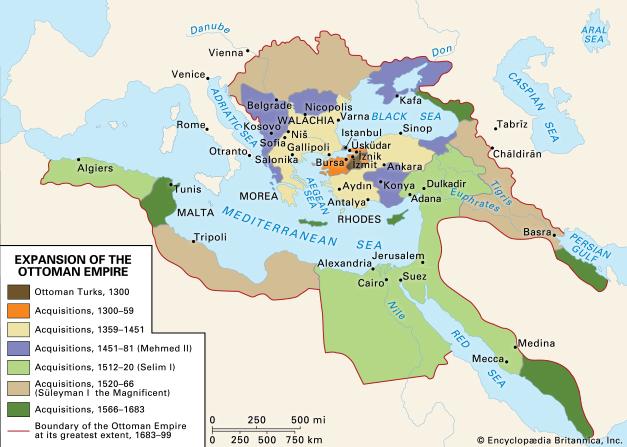 1300-1700 Ottoman