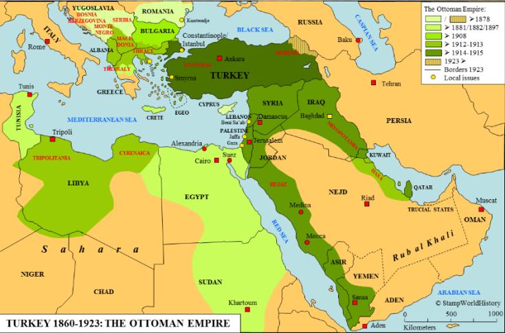 1878-1923 Ottoman