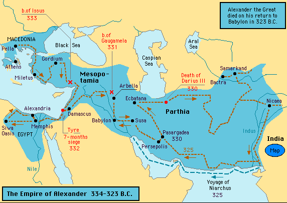 -323 Empire of Alexander