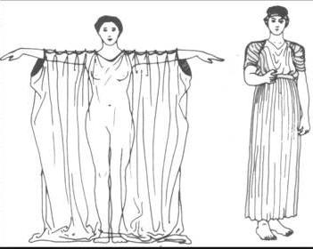 Chiton drape