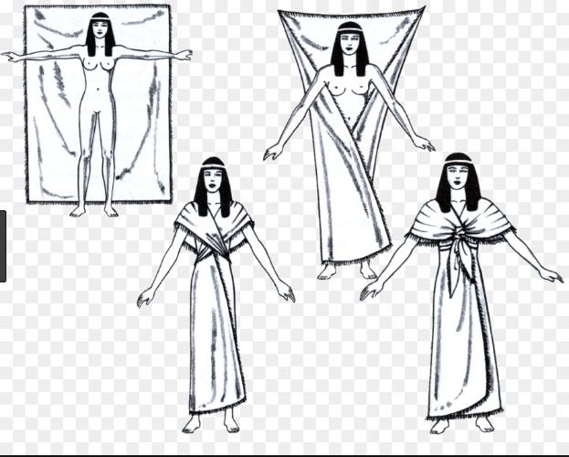Egyptian fold