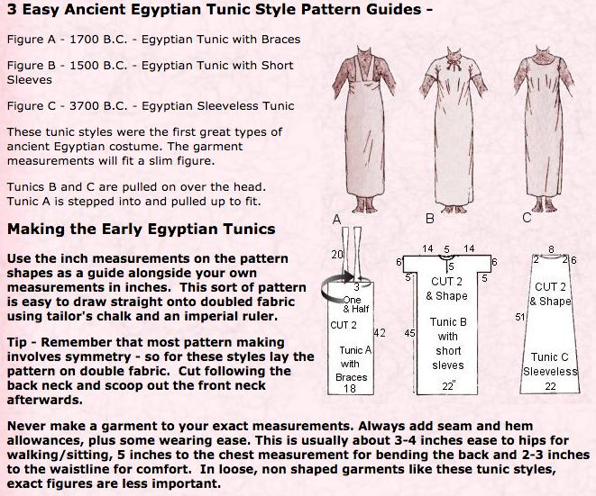 Egyptian tunic 2